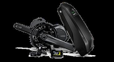 Der Shimano Steps E8000 e-Bike Antrieb ist besonders leicht und kompakt