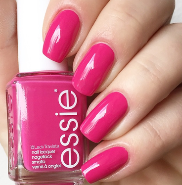swatch essie schatzi pink happy