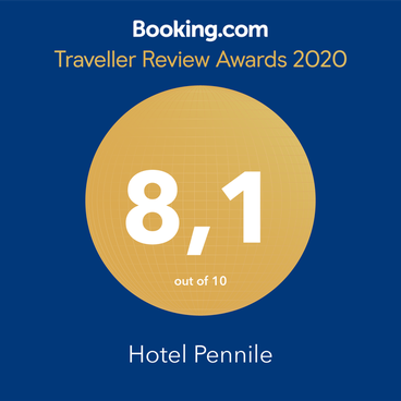Booking Traveller Review Awards - Hotel Pennile, Ascoli Piceno