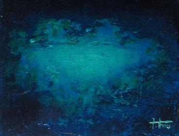 「青の時」 F0 アクリル・パネル