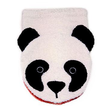Fürnis Tier-Waschlappen Panda Bio-Baumwolle - zuckerfrei | Kids Concept Store