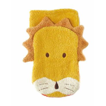 Fürnis Tier-Waschlappen Löwe Bio-Baumwolle - zuckerfrei | Kids Concept Store