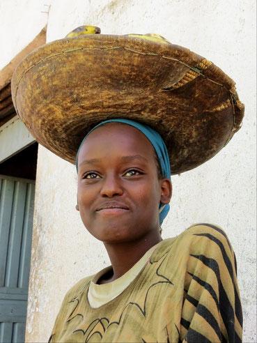Marktmädchen in Harar