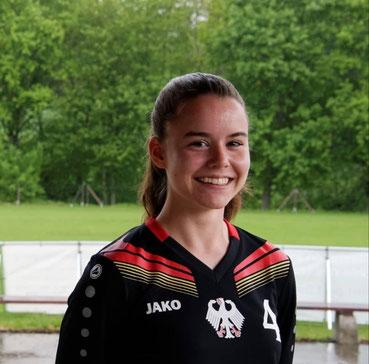 U18-Nationalspielerin Elena Kull