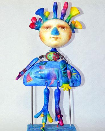 """""""Wassermann"""" von Natalja Lebsak, (c) Spielzeugmuseum Neustadt"""