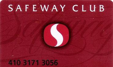Safeway Club Karte, Peter Rehberg