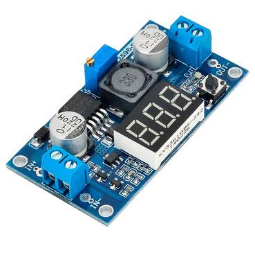 lm2596 guatemala, modulo regulador, modulo dc dc, electronica, electronico, voltimetro, modulo lm2596 con voltimetro