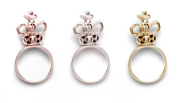 Crown Rings You are the ruler of your world Emma Hedley Jewellery