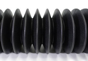 丸型ジャバラ 成形品タイプ ゴム ジャバラ