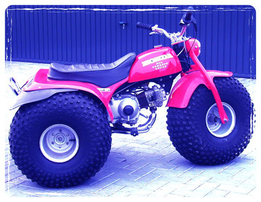 Honda 90 All Terrain Cycle.
