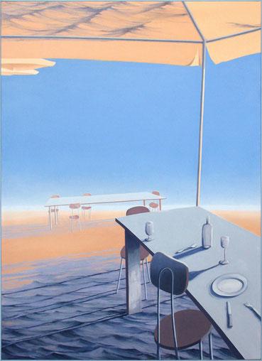Nina Gross Malerei Kunst Sonnenschirm