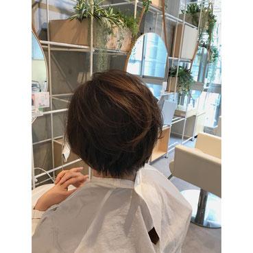#横浜#石川町#美容室#Grantus# ショート#ボブ#ヘアスタイル