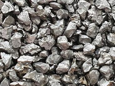 Hartguss, kantig, Strahlmittel, metallisch, Mehrwegstrahlmittel, Stahlkorn, Stahlkies, Strahlmittel