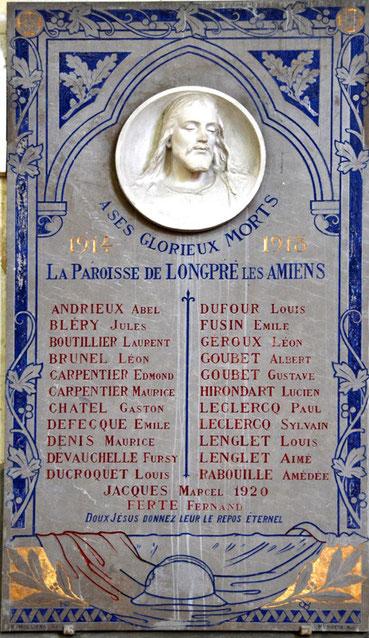 Eglise Saint-Jean-Baptiste de Longpré-les-Amiens