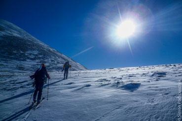 Rondane National Park, Norway, Fjell, winter, ski