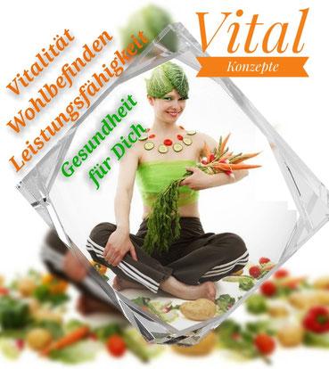 3G: gesunde Lebensweise, gesunde Ernährung und Versorgung mit notwendigen Mikronährstoffen