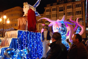 Horario y recorrido de la Cabalgata de Reyes de Lugo