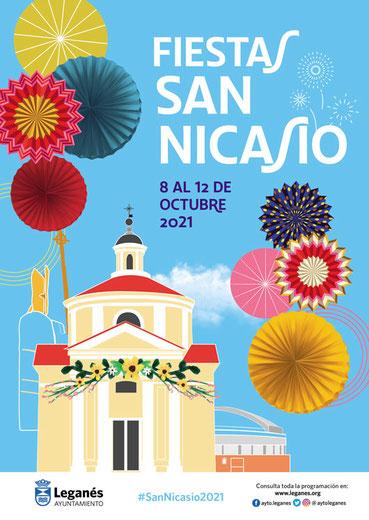 Programa de las Fiestas de San Nicasio en Leganés