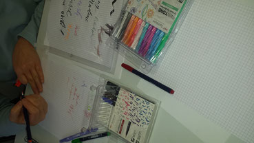 Mit den schönen Stiften von Tombow kommt Farbe ins Spiel