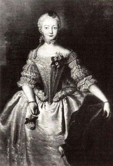 バイロイト辺境伯夫人ヴィルヘルミーネ・フォン・プロイセン