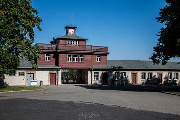 """Von rechts kommend über den """"Carachoweg"""" getrieben erlebten die Gefangenen schreckliche Gewalt"""
