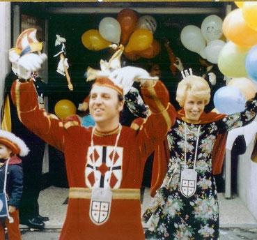 1977 Prinz Walter Mertens I. Prinzessin Ursula Mertens III.