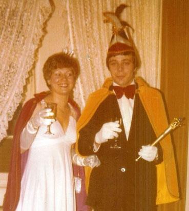 1976 Prinz Hugo Becker I. Prinzessin Marlies Becker II.