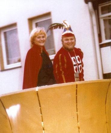 1978 Prinz Heinz-Werner Stemann I. Prinzessin Eva Stemann I.