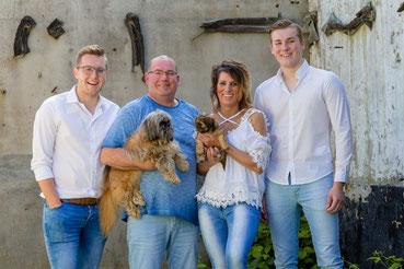 gezinsfoto, fotoshoot op locatie