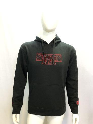 Hoodie (sweatshirt) model STRANGER