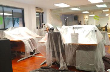 precio pintar oficina. Pintors Barcelona  pintores. Pintor para oficinaPrecio y Presupuesto pintar oficina. Pintores de oficinas en Barcelona. Pintors al l´Eixample, Gràcia, Sant Gervasi. Pintor para oficina profesional