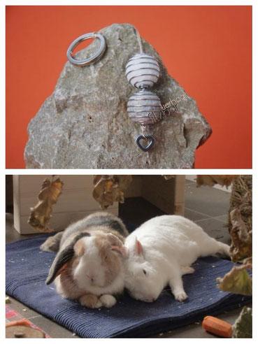 Schmuck aus Kaninchenfell