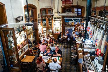 Nostalgische Bar in Buenos Aires