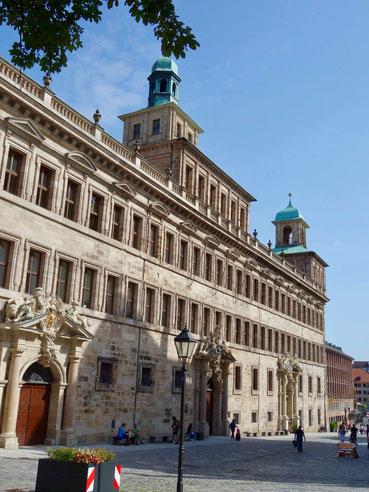 Rathaus Nürnberg und Lochgefängnisse