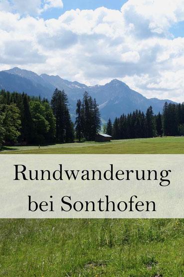 Wanderung bei Sonthofen, Oberallgäu: Tiefenberger Moos und Wittelsbacher Höhe