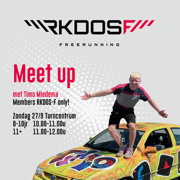 MRKDOS-F Meet Up met Youtuber Timo Miedema