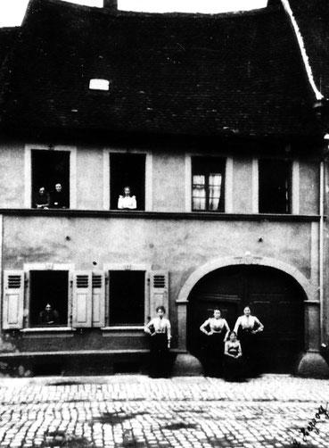1901,  Haus Schönmehl, Bild: Museum