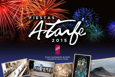 Portada del Programa de las Fiestas, Atarfe 2.015