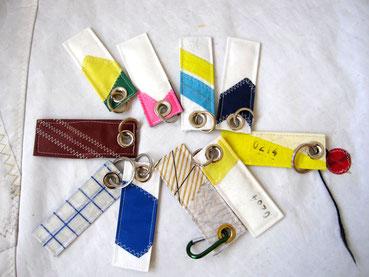 Schlüsselanhänger aus Segeltuch Sailart Fashion Heppenheim Bergstrasse