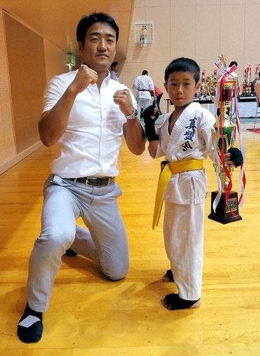 宮野道場主催 第16回 全関西空手道選手権大会 入賞者