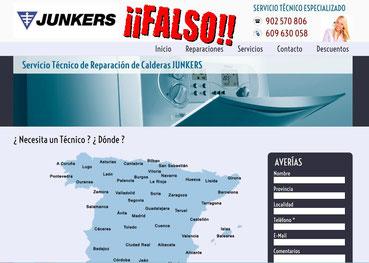servicio tecnico pirata Junkers Alicante