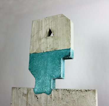 Beton Objekte Beck, Design, Pflanztopf,Blumentopf, Brutalismus, Funktionalismus