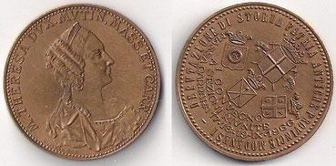 Medaglia della Duchessa Maria Teresa, Deputazione di Storia Patria delle Antiche Provincie Modenesi.