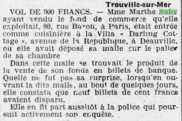 L'Ouest-Eclair 1922/08/26 (Numéro 7601).