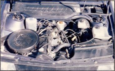 Audi 100 5S: 2144 ccm in 5 Zylindern
