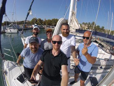 Praktische Prüfung für den Sportbootführerschein See bestanden