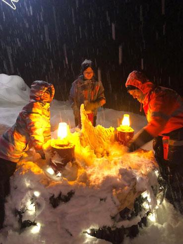 Stimmiger 2. Adventsonntag 2020 > aber der Schneefall kann endlich aufhören.