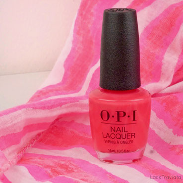 OPI • We Seafood and Eat It (NL L20) • OPI Lisbon Collection spring 2018