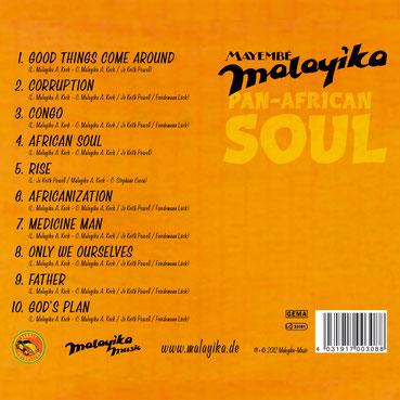 Debut Album: PAN-AFRICAN SOUL