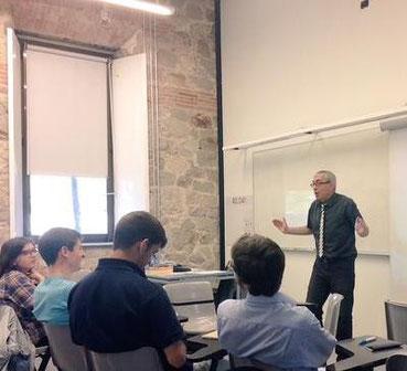 Taller del Mètode Picó a la Universitat Pompeu Fabra